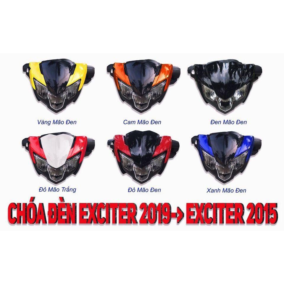 Bộ đầu đèn EXCITER 150 (2015) lên EX (2019)