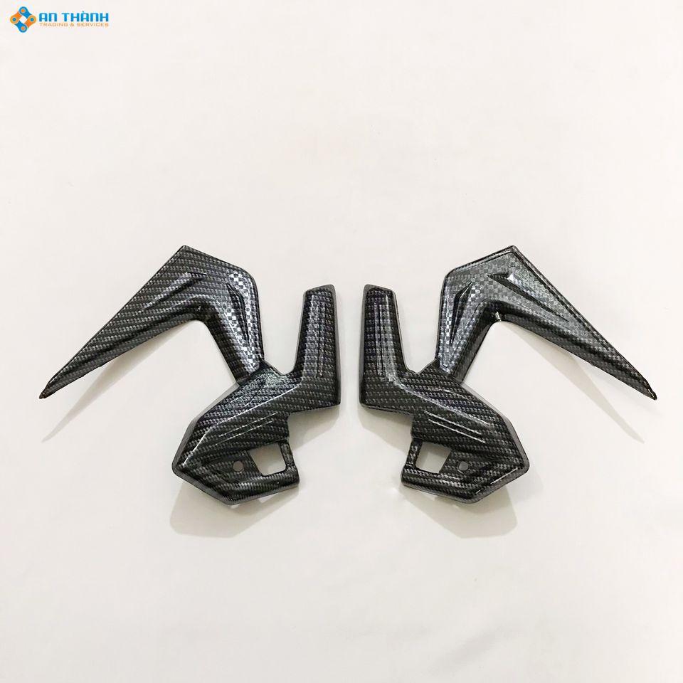Ốp gác chân sau AIR BLADE 125- 150 (2020) sơn Carbon